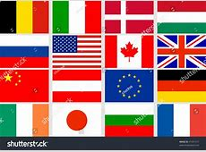 Vector Set Different Countries Flags 41091517 Shutterstock