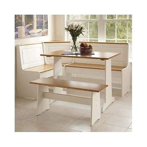 piece dining set breakfast nook kitchen table chairs