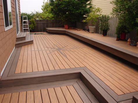 Deck Tech Solutions Inc by Sunset Deck Using Quot Timber Tech Quot Composite Decking