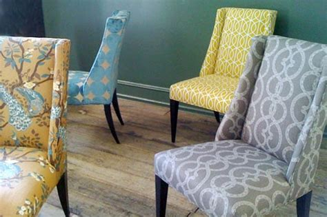 Upholstery For Dining Chairs by Enzy Living Dwell Studio For Robert Allen