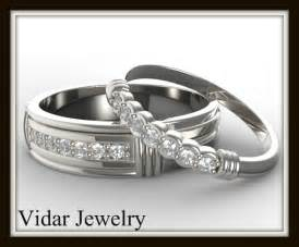unique wedding ring sets for him and matching wedding band set for his and hers vidar jewelry unique custom engagement and