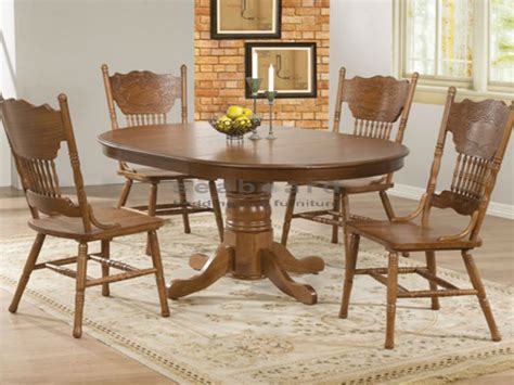 circular dining sets oak dining table set for 4