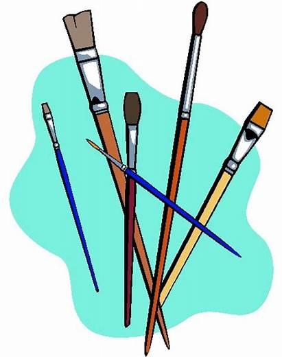 Clip Clipart Painting Paint Painter Children Cliparts