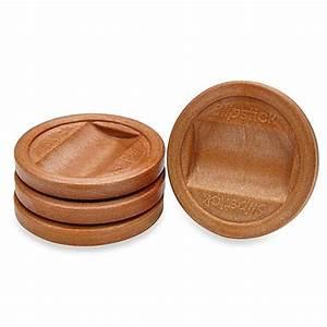 Slipstick® Large Castor Cups (4-Pack) - Bed Bath & Beyond