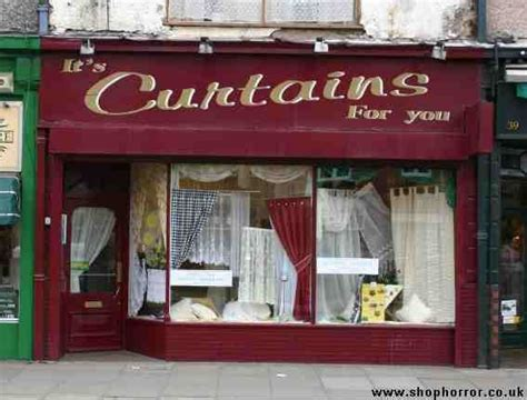 shop horror shop fronts it s curtains for