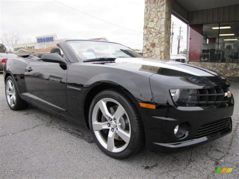 Black Convertible Camaro by 2012 Black Chevrolet Camaro Ss Convertible 57095054