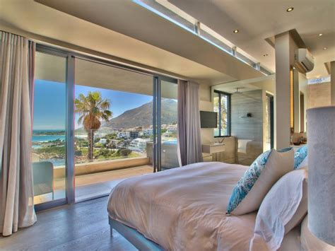 master bedroom magnificent modern home  cape town