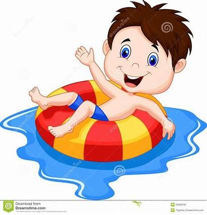 Pool Kid Clipart Clipartpanda Swimming Cartoon Clip