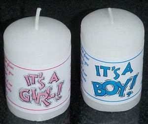 personalized 14 baby shower votive candle labels stickers With candle personalized labels
