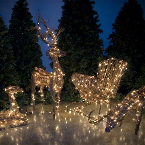 topiary  grapevine reindeer  sale