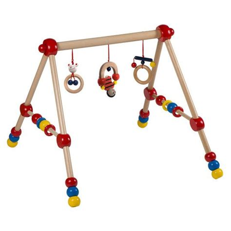 baby trapez holz bieco spiel trapez baby aus holz h 246 henverstellbar babyartikel de