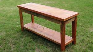 handmade barnwood sofa table by son ranch furnishings With custom barnwood tables