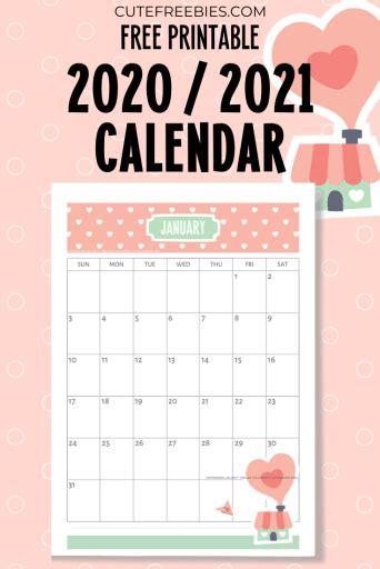 printable   calendar super cute cute