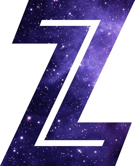 quot the letter z space quot stickers by mike gallard redbubble