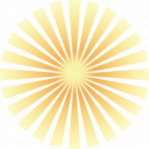 Sun Rays Clip Art at Clker.com - vector clip art online ...