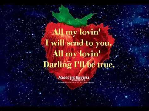 loving    universe  lyrics youtube