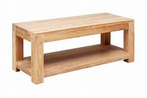 Table En Teck Massif : table salon bois massif maison design ~ Teatrodelosmanantiales.com Idées de Décoration
