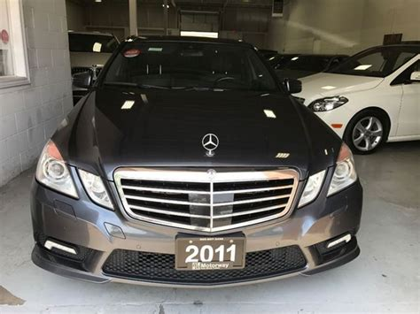 Used 2011 Mercedesbenz E550 E 550 4matic Mississauga