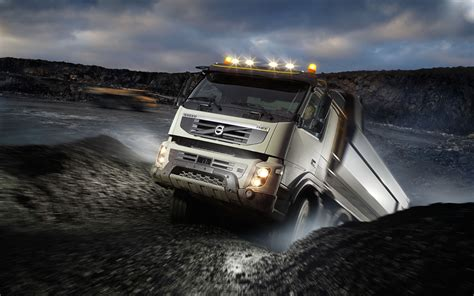 volvo fmx   worlds longest tunnel construction