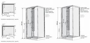 Cabine de douche petite hauteur maison design bahbecom for Porte douche petite hauteur