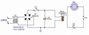 Power Failure Alarm - Control Circuit
