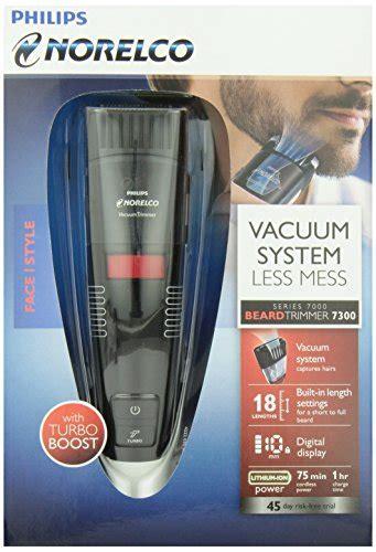 philips norelco beardtrimmer  vacuum trimmer  adjustable length settings model