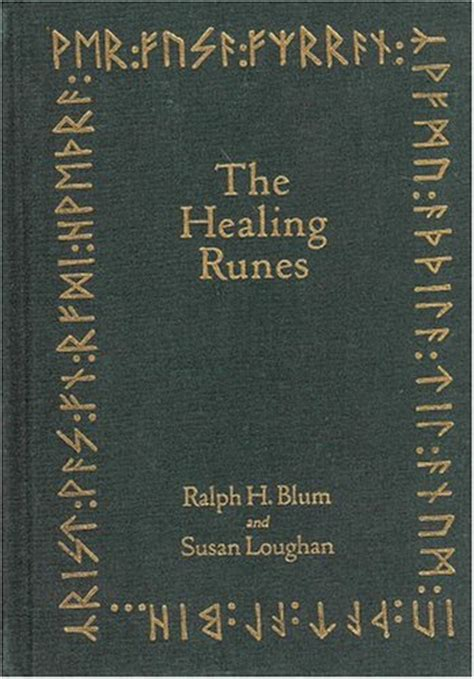 healing runes loose book tools   recovery  body mind heart soul  ralph