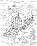 Coloring Ocean Waves Pages Viking Boat Ausmalbilder Printable Ship Ozean Vikings Print Boats Wave Sea Scene Printables Von Zum Tiere sketch template