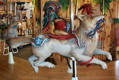 National Carousel Association - Lark Toys Carousel - Wolf ...