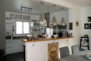 cuisines ouvertes sur s駛our image gallery modele de cuisine americaine