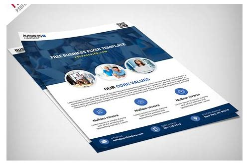psd brochure templates free download
