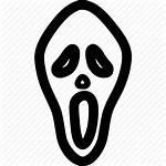 Horror Icon Scary Mask Face Fear Skull