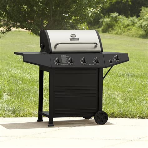 backyard pro grill gas bbq with stainless lid become the best backyard chef