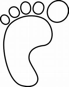 Left Foot Clip Art at Clker.com - vector clip art online ...
