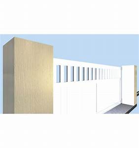 Portail 3 50m : portail coulissant 3 50m portail coulissant fabrication ~ Premium-room.com Idées de Décoration