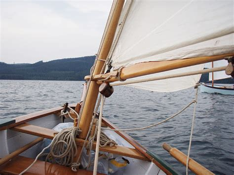 Jaws Sailboat by Reefing A Footed