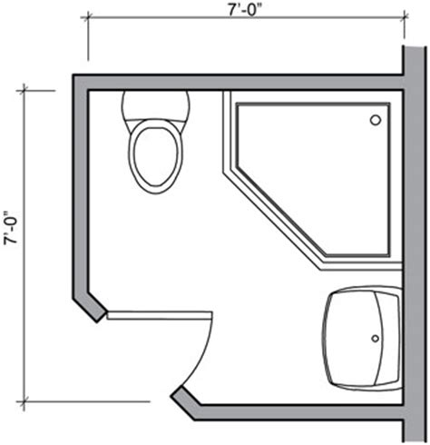 Bathroom Floor Plans Small by Small Bathroom Layout With Shower Only