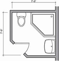 bathroom floor plan Design Small Bathroom Layouts Build Bathroominterior ...