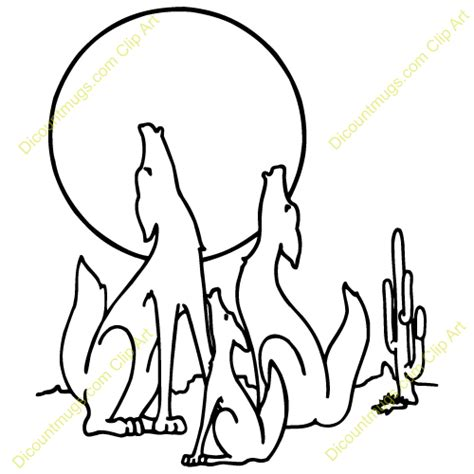 coyote clipart black and white coyote clip black and white clipart panda free