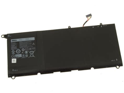 Dell Original XPS 13 9350 4-Cell 56Wh OEM Battery 90V7W