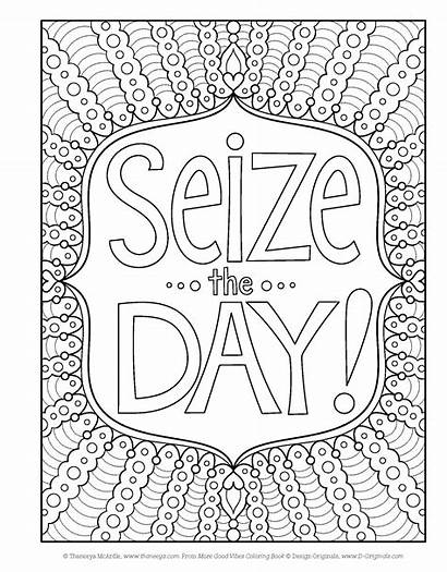 Coloring Positive Pages Vibes Affirmation Fun Sheets