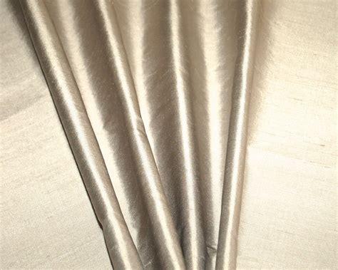 Grey Dupioni Silk Curtains