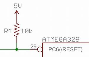 pull up resistors learnsparkfuncom With pull up circuit