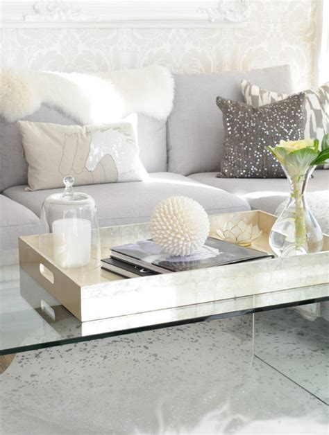 gray coffee table tray lucite coffee table xl gold tray perfect accessories