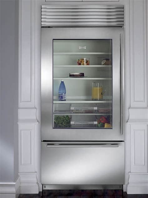 subzero bi ugsth  stainless steel built  glass