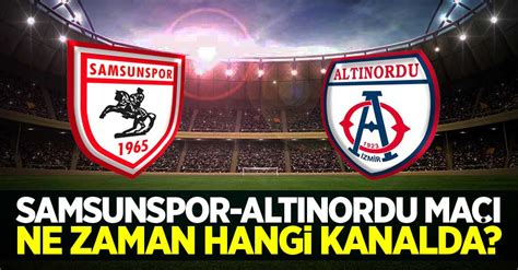 The last 5 section shows each team's form for the past 5 games played individually, but more details and statistics can be found in the samsunspor vs altınordu h2h section. Y.Samsunspor - Altınordu Maçı Ne Zaman Hangi Kanalda