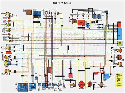 Honda Gl 1500 Wiring Diagram by Honda Goldwing 1500 Wiring Diagrams Honda Wiring Diagram