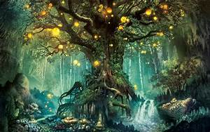 Fantasy Forest World Widescreen Wallpapers for Computer