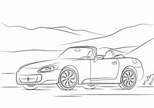 2009 honda s2000 coloring page free printable coloring pages With 2009 honda cr v