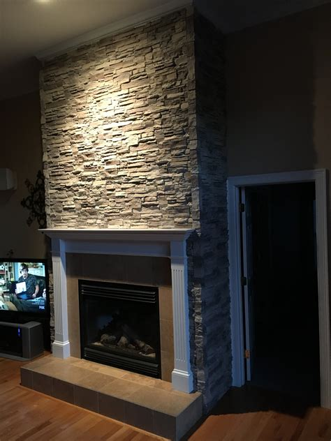 faux fireplace panels fireplace facing adds atmosphere creative faux panels 7184